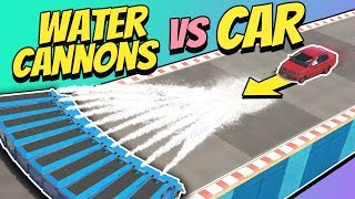GTA 5 | Can WATER CANNONS Stop A CAR?
