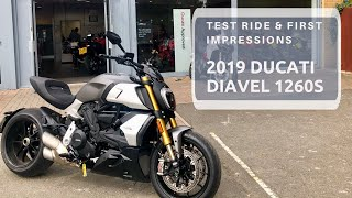 2019 DUCATI DIAVEL 1260S, Test ride & first impressions!