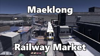 Cities Skylines: Maeklong Railway Market Build