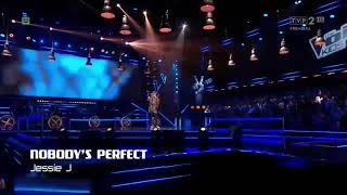 """Lena Marzec-,,Nobody's perfect"""" Sing Off The Voice Kids"""