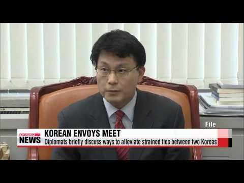 Seoul′s special envoy meets Pyongyang′s No. 2 man in Moscow   윤상현 특보, 북 김영남과 러시아