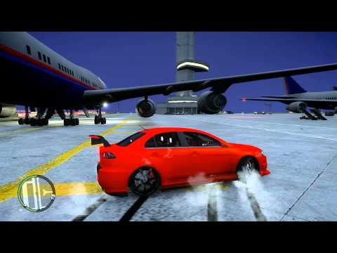 GTA IV - drift, burnout e manobras