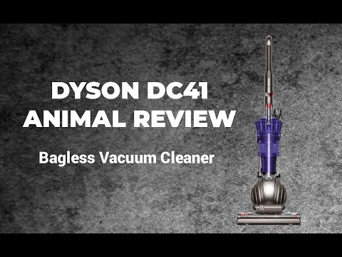 Dyson DC41 Animal Vacuum Cleaner Review