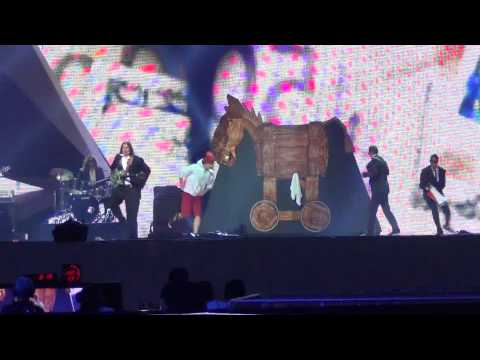 Eurovision 2012 in Baku : Montenegro 2nd rehearsal Rambo Amadeus - 