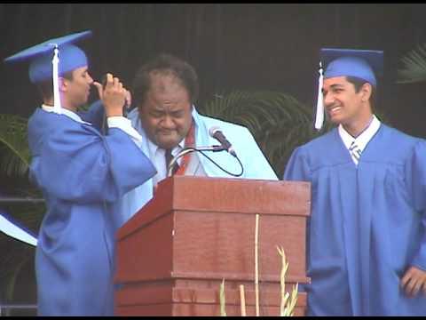 Hawaiian Mission Academy C/O 2009 graduation