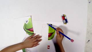 7-Year-Old Artist Reimagines the Iconic Kermit the Frog x Supreme Tee