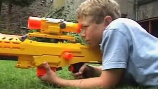 THE 2ND NERF WAR - 2 Million Subscribers!