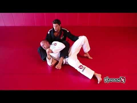 BJJ Technique Bow and Arrow Choke - Hayabusa - Marcus Almeida Buchecha Image 1