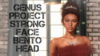 GENUS Project Strong Face Bento Head in Second Life