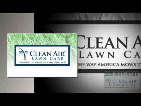 Best Sustainable Lawn Care Companies Seattle WA - Clean Air
