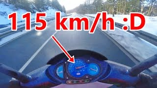 ROLLER SPEED-TEST  115 km/h