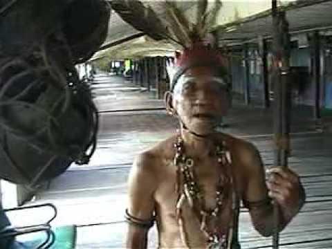 Borneo Iban Head Hunter Po Ai Longhouse (RIP Mr.Tambi -March 2014)