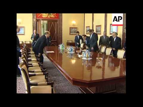 Foreign Minister Lavrov and Ivanov meet Iran's Supreme Leader envoy