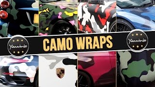 Camo Wrap Cars Compilation