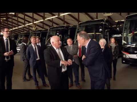 Ministerpräsident Stephan Weil bei Höffmann Reisen in Vechta