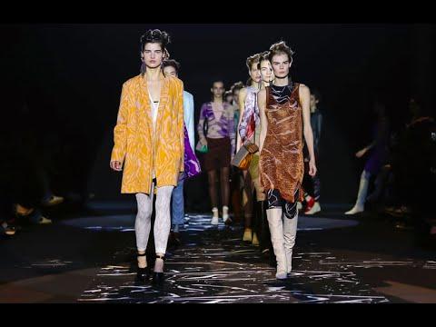 Missoni F/W 2015. Daria Shapovalova at Milan Fashion Week