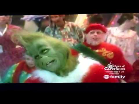 The grinch singing with the who s youtube