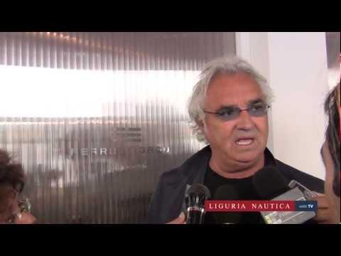 SPECIALE NAUTICO – Il vulcanico Flavio Briatore protagonista allo stand Ferretti