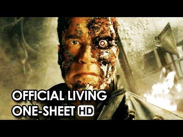 Terminator Genisys Official Living One-Sheet (2015) - Arnold Schwarzenegger Movie HD