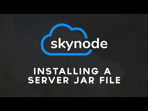 Installing a Server Jar File | Skynode Tutorial Series