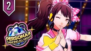 Persona 4 Dancing All Night ★ Episode 2 ★ Movie Edit / All Cutscenes + Story Dances
