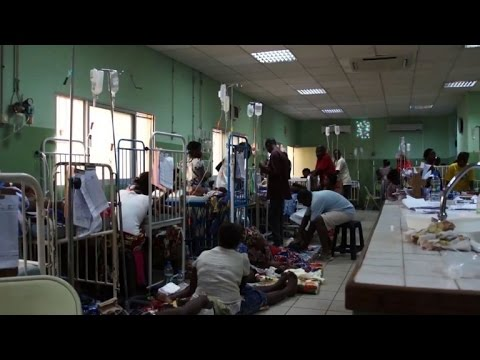 Angola's ailing hospitals hit by yellow fever outbreak