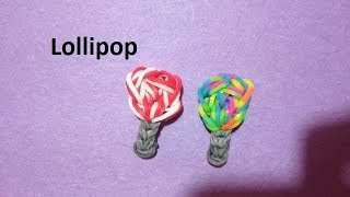 How to Make a Lollipop Charm on the Rainbow Loom - Original Design
