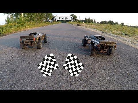 Две бензиновые тачки и ДРАГ