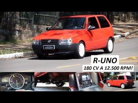 Garagem do Bellote TV: R-Uno (motor Yamaha R1)