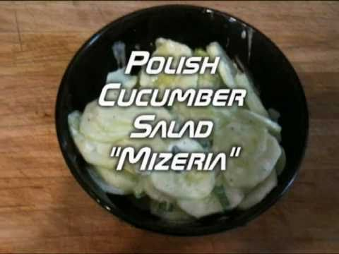 How to Make Polish Cucumber Salad