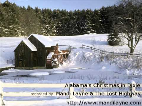 Mandi Layne & The Lost Highway - Cover Of Alabama's Christmas In Dixie video