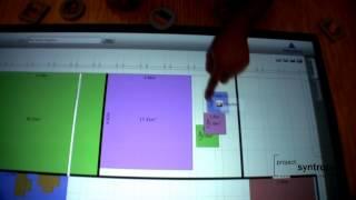 Multitouch Real Estate Configurator alpha version