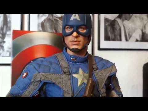 Hot Toys Captain America The First Avenger Review (German )