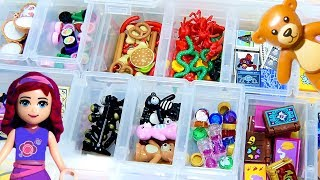 Sorting Tiny Lego Things - How I Store my Lego Minidoll Accessories
