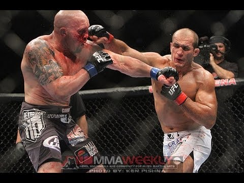 UFC 160 Junior dos Santos Talks Striking With Mark Hunt and Regaining Title