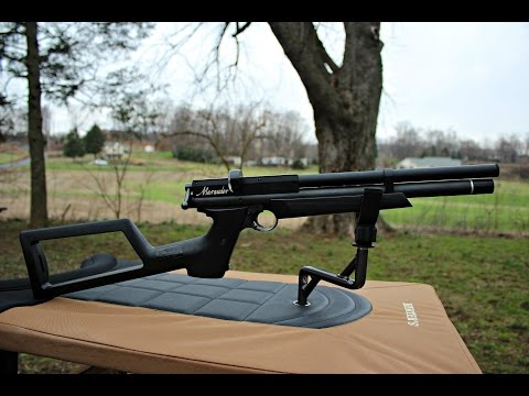 Benjamin Marauder Air Pistol (.22)  Crosman's Ultimate Trick Shots