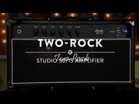 Two-Rock 50/15 Amplifier Demo thumbnail