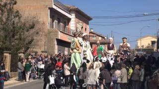 PASACALLES GIGANTES DE FITERO Y CABANILLAS SAN RAIMUNDO 16 03 2014