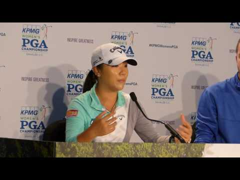 Video: Lydia Ko says the crowd at Sahalee CC was one of the biggest they've seen this year