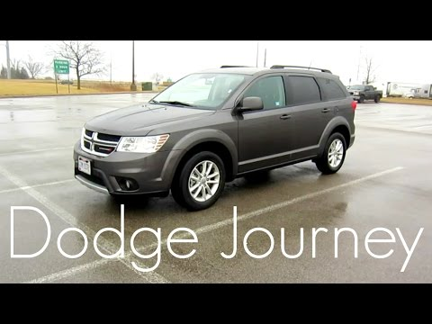 2017 Dodge Journey SXT   Full Rental Car Review and Test Drive