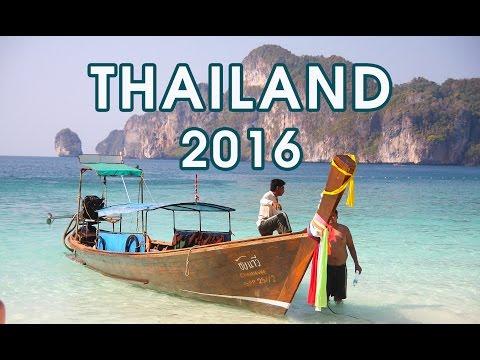Thailand Trip 2016 | GoPro Hero | Holiday | Tajlandia Wakacje