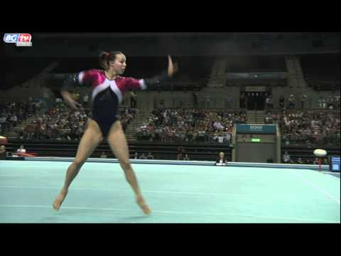 Beth Tweddle - Floor - British Championships 2011 - App Finals - GOLD