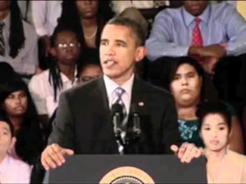 Obama Challenges Students To Work Hard