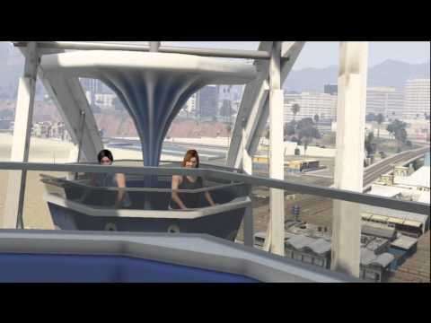 Grand Theft Auto V - Riding the Ferris Wheel