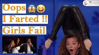 Oops I Farted !! Girls Fail Edition || Fail Compilation 2018