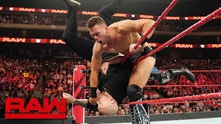 Ricochet & The Miz vs. Drew McIntyre & Baron Corbin: Raw, Aug. 19, 2019