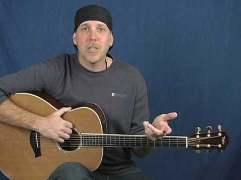 How to play acoustic guitar songs classic rock style with new rhythm patterns lesson super easy! Music Videos