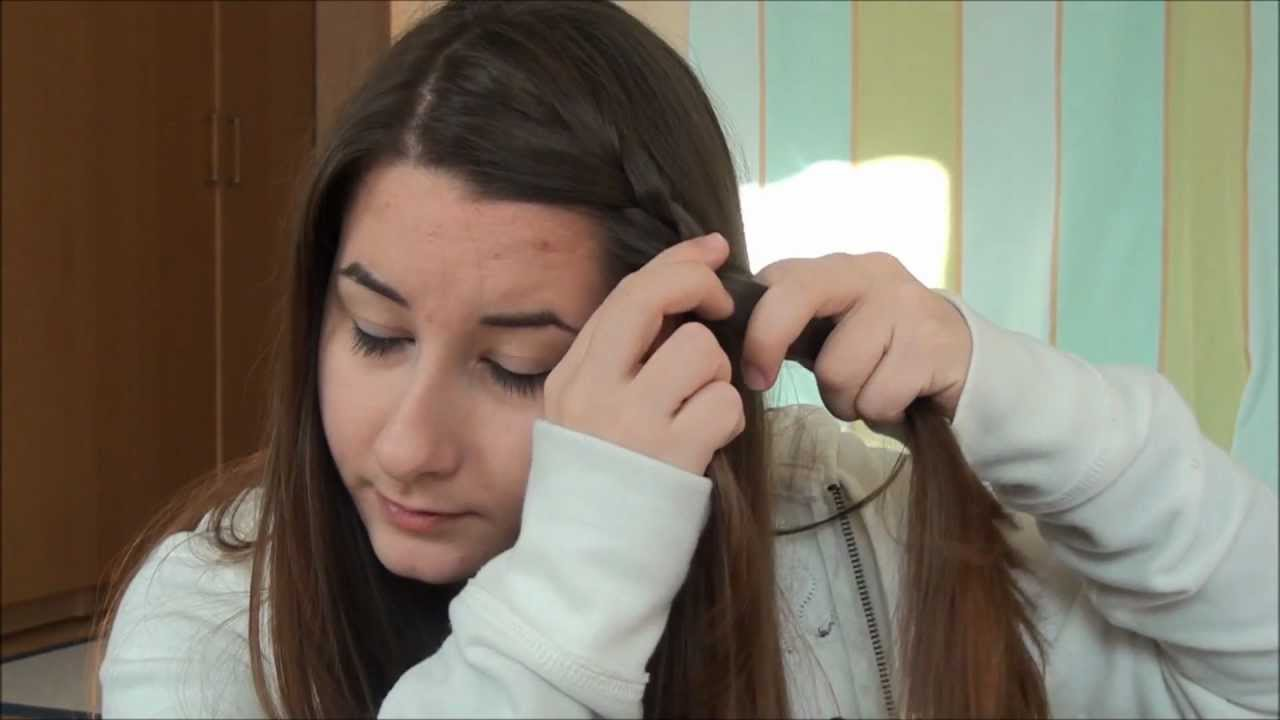 3 Easy Hairstyles For Greasy Hair Youtube