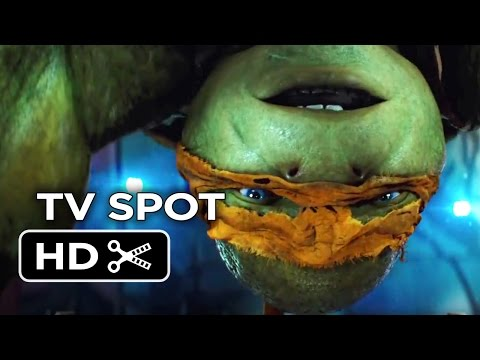 Teenage Mutant Ninja Turtles TV SPOT - Slice (2014) - Megan Fox, Will Arnett Movie HD