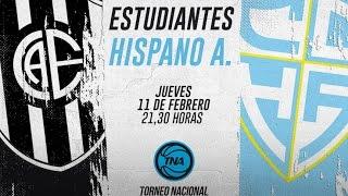 Эстудиантес : Хиспано Американо